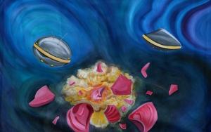 Three Clam Shells Galactic