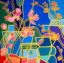 """Still Life Mosaic, 18"""" x 18"""""""