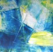 """Blue Soul, 8"""" x 8"""""""