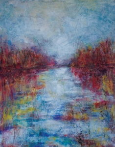"""Stormy Anticipation, 14"""" x 11"""" (SOLD)"""