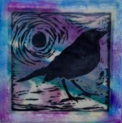"""Black Bird, 5"""" x 5"""" (N/A)"""